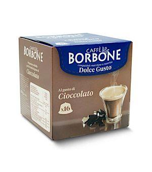 Capsule Borbone Gusto Al Gusto di Cioccolato Compatibile Nescaf Dolce Gusto