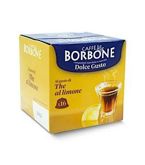 Capsule Borbone al gusto di the al limone Compatibile Nescaf Dolce Gusto