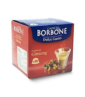 Capsula Borbone Caff al Gusto Di Ginseng Compatibile Nescaf Dolce Gusto