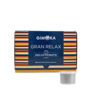 Capsule Gimoka Miscela Gran Relax Decaffeinato 32mm