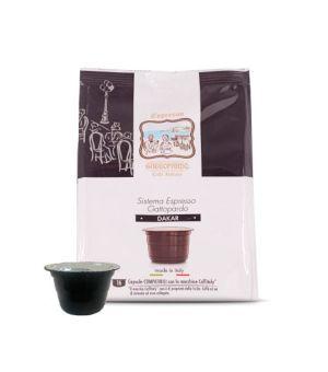 Capsule Gattopardo To.Da. Caffè Miscela Dakar (Compatibili Caffitaly)