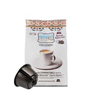 Capsule Gattopardo To.Da. Caffè Dolce Special Club (Compatibili Dolce Gusto)