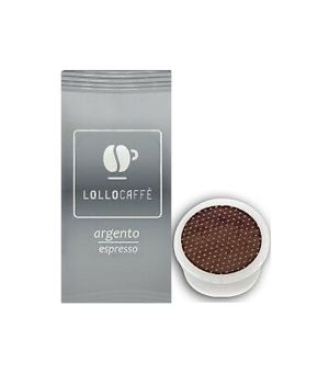 Capsule Lollo Caffè Miscela Argento (Compatibili Lavazza Espresso Point)