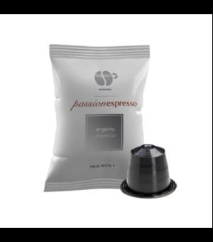 Capsule Lollo Caffè Passionespresso Miscela Argento (Compatibili Nespresso)