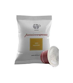 Capsule Lollo Caffè Passionespresso Miscela Oro (Compatibili Nespresso)