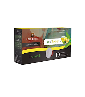 N10 Capsule Lollo al gusto di Te limone Compatibili Nespresso