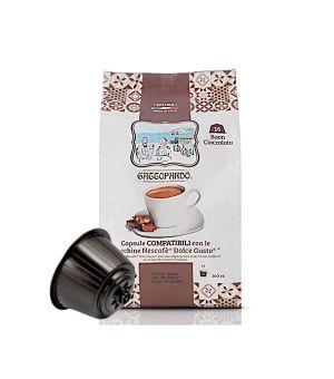 Capsule Gattopardo TO.DA. Dolce Cioccolata (Compatibili Nescafè Dolce Gusto)