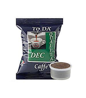 Capsule To.Da. Caffè Miscela Decaffeinato (Compatibili Lavazza Espresso Point)