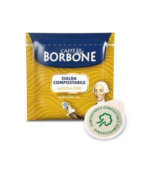 Cialde Filtro Carta ESE 44mm Borbone Oro