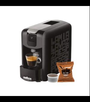 Macchina da Caffè Lavazza Espresso Point EP.Mini + 50 Capsule Point Saida Espresso Crema