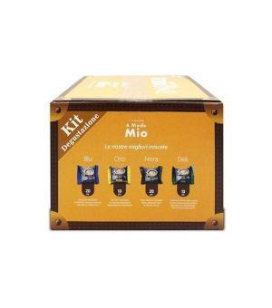 Kit Degustazione Capsule Caff Borbone Don Carlo Compatibile a Modo Mio