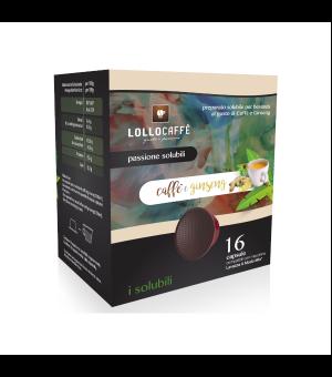 16 capsule gusto ginseng Lollo caff Compatibili Lavazza a Modo Mio