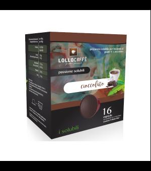 6 capsule aromatizzate cioccolato Lollo Caff Compatibili Lavazza a Modo Mio