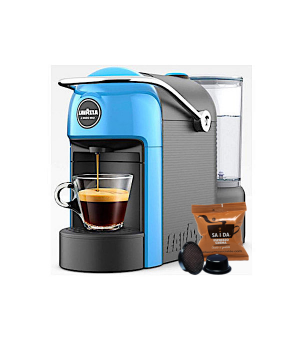 Macchina da Caffè Lavazza a Modo Mio Jolie + 50 Capsule Il Mio SA.I.DA. Espresso Crema