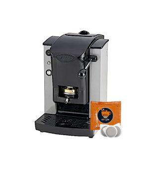 Macchina da caffè Faber Slot Plast + 200 Cialde SA.I.DA. Espresso Crema