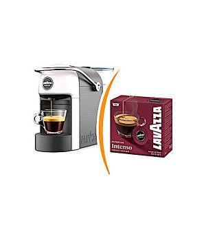 Macchina da caffè Lavazza a Modo Mio Jolie più 36 capsule caffè miscela intenso