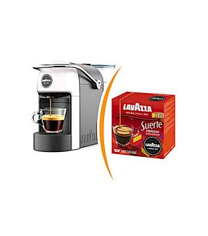Macchina da caffè Lavazza a Modo Mio Jolie più 36 capsule caffè espresso suerte