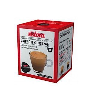N 10 capsule caffe e ginseng compatibili Nescafe Dolce gusto