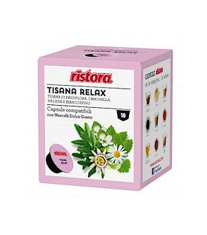 N 10 capsule Tisana relax Ristora  compatibili Nescaf Dolce gusto