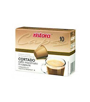 N 10 capsule di caffe macchiato Cortado compatibili Nespresso