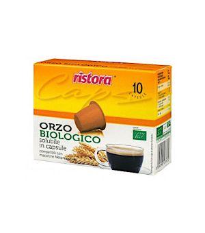N 10 capsule di Orzo solubile biologico compatibili Nespresso
