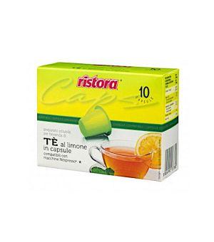 N 10 capsule Te limone compatibili Nespresso
