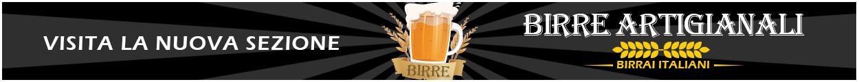 Vai alla sezione birre artigianali