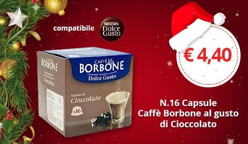 Capsule Borbone al gusto cioccolato compatibili Nescafè Dolce Gusto