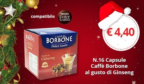 Capsule Borbone al gusto Ginsegn compatibili Nescafè Dolce Gusto