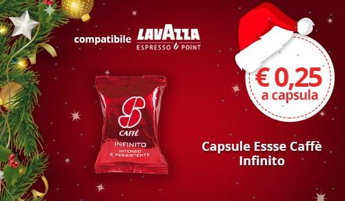 Capsule Essse Caffè Infinito compatibili Lavazza Espresso Point