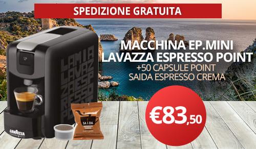 macchina caffè lavazza espresso point mini