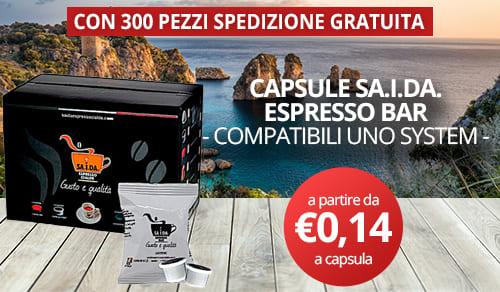 capsule sa.i.da. espresso compatibili uno system
