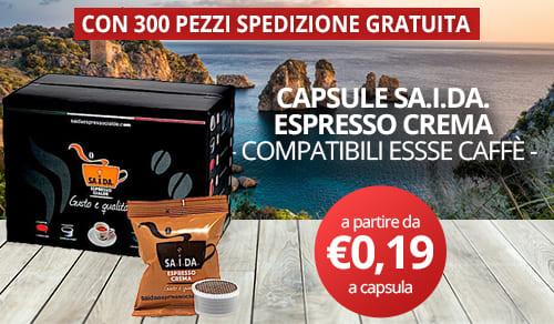 capsule sa.i.da. espresso compatibili essse caffè