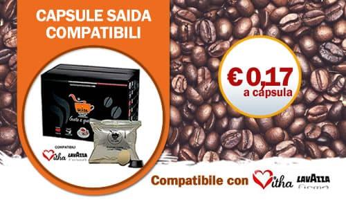 Capsule SAIDA Lavazza Firma e Vitha Group Crema