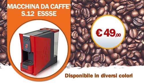 Macchina da Caffe S12 Essse caffe