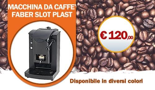Macchina da Caffe Faber Slot disponibile in vari colori
