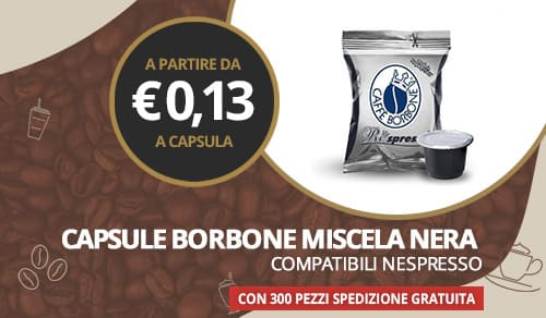 capsule borbone miscela nera compatibili nespresso