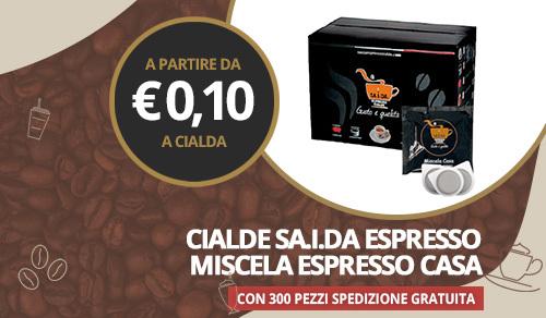 cialde caffè sa.i.da. miscela espresso casa