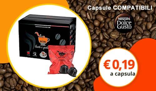 Capsule SA.I.DA. Il Dolce Gusto Espresso Crema (Compatibili Nescafè Dolce Gusto)