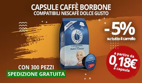 Capsule Caffè Borbone compatibili Dolce Gusto