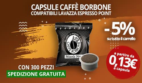 Capsule Caffè Borbone compatibili lavazza espresso point
