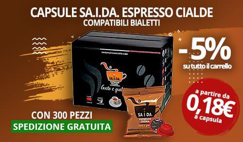 Capsule SA.I.DA. compatibili Bialetti