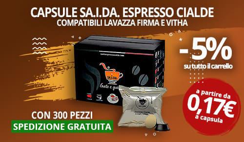 Capsule SA.I.DA. compatibili  lavazza firma e vitha group