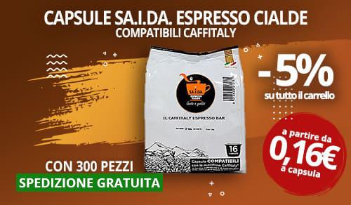Capsule Caffè SA.I.DA. compatibili Caffitaly