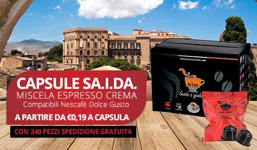 capsule SA.I.DA. Espresso Crema compatibili Bialetti