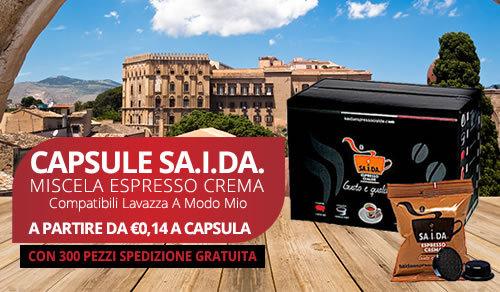 capsule SA.I.DA. Espresso Crema compatibili Lavazza a modo mio