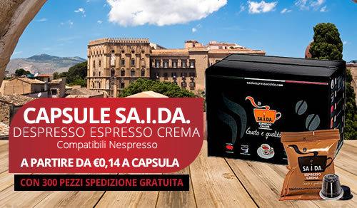 capsule SA.I.DA. Espresso Crema compatibili Nespresso
