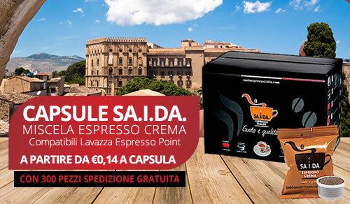 capsule SA.I.DA. Espresso Crema compatibili Lavazza espresso point