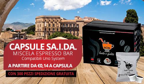 capsule SA.I.DA. Espresso Crema compatibili uno System