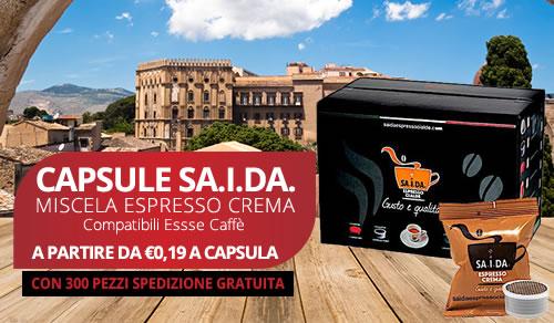 capsule SA.I.DA. Espresso Crema compatibili Essse caffè